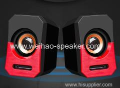 bass sound high quality 2.0 computer speaker for PC laptop notebook mobile phone