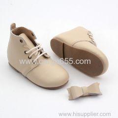 жесткие подошвы детская обувь из натуральной кожи плюшевые детские туфли