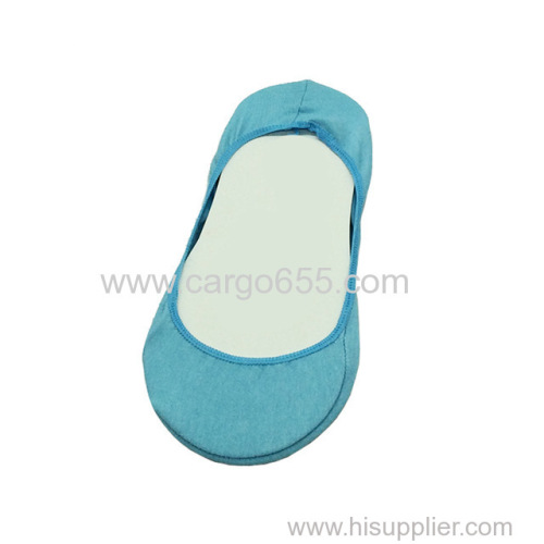 Sumeihui simple solid color cotton anti-slip breathable flexible boat shape lady young school girls kid sock