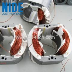 Universal motor stator winding machine for Wash machines and blowers