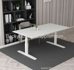 Office furniture gas lifting height adjustable standing desk