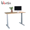 Certified electric table leg smart height adjustable standing desk with two motors