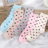 New style Cute Socks Candy color thick warm Cotton women socks