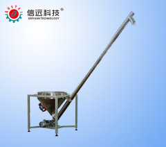 Screw auger conveyor lifter