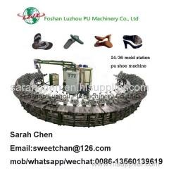 pu slipper and sandals making machine