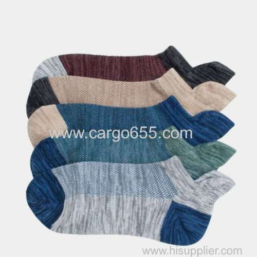 Fashionable Custom Men's Fashion Cozy Ankle Socks