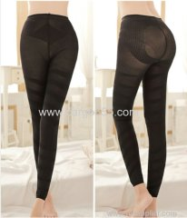 High waist elastic sectional pressure postpartum shapewear seamless shaping leggings