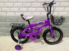 """16"""" top quality simple design kids bike/ good-looking children bike with basket and carrier/factory wholesale price"""