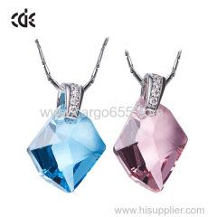 кристалл от swarovski оптовой моды камень подвеска ожерелье