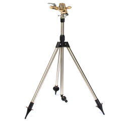 Garden Water Sprinkler With Telescopic Tripod