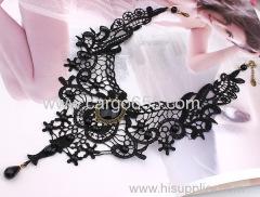 мода ожерелья для женщин ручной работы jewerly готический ретро старинные кружево ожерелье воротник колье ожерелье bib g