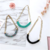 Wholesale Choker Vintage Jewerly Bead Necklaces & Pendants Fashion Colar Exaggerated Statement Women Necklace