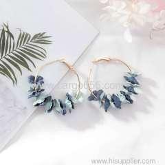 2018 Silver earing Zircon ear ring Diamond women earring