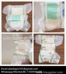 Printed Feature and Dry Surface Absorption baby diaper