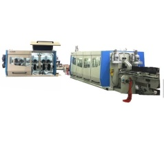Click system making machine for SPC Floor sheet
