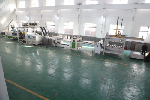 110/220 SPC Flooring Making machine