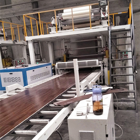 Parallel Twin Extrusion Line for SPC Flooring