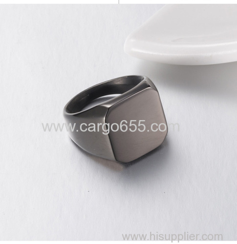 Custom Jewelry Personalized Rings For Women And Mens Signet Ring Silver Size Free Engraving