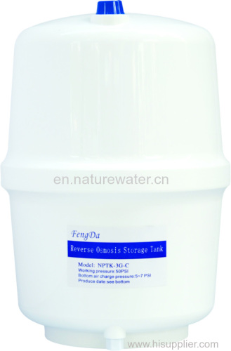 3G RO filter pure water storage tank for water purifier
