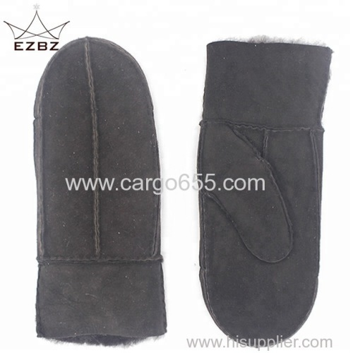 Premium Australia Fashion Winter Sheepskin Sexy Ladies Leather Fur Mittens Gloves