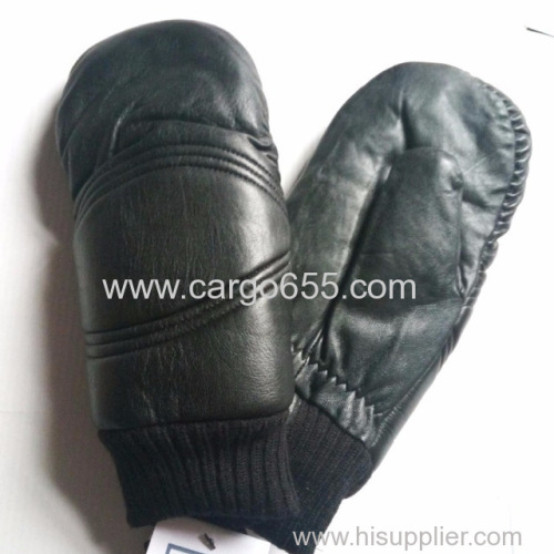 Winter waterproof sheepskin gloves wholesale