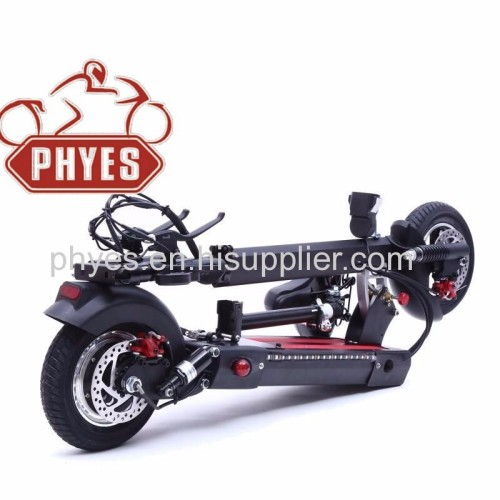 high power li-ion battery powered foldable electric motor scooter