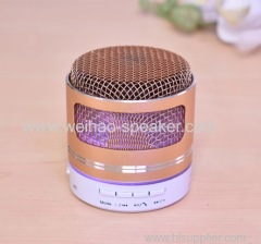 light Portable mini BT Speaker support usb tf card FM radio