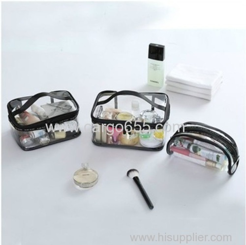 Waterproof Makeup Bags Travel Fashion Clear PVC Cosmetic Bags