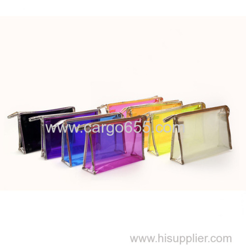 Popular fashion travel cosmetic bag/fancy toiletry wash make up bag