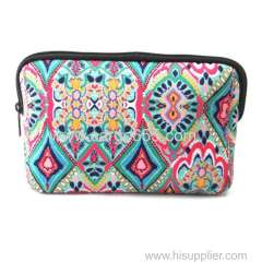 Promotional Neoprene pouch cosmetic make up bag