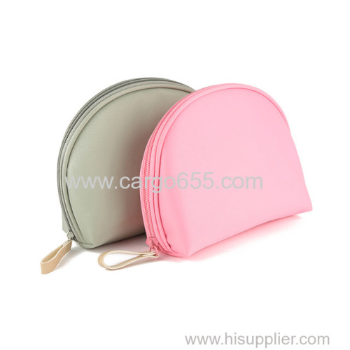 Multi pockets organizer cosmetic make up pouch bag