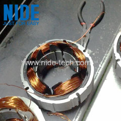 Bladeless fan motor stator needle coil winding machine
