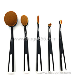 Women beauty make up flat foundation brush set synthetic hair