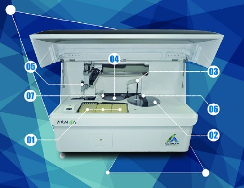 Medical Laboratory Test Equipment Biochemistry Analyzer