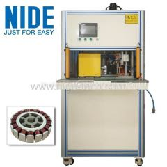 BLDC external rotor hot staking Machine for ceiling fan motor