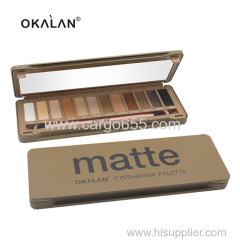 OKALAN New Pop Pro Makeup Factory Multi Color Matte Eye Shadow Set Makeup High Quality Eyeshadow Palette With Brush