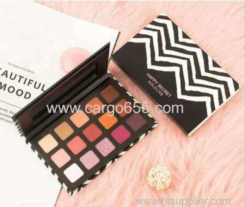 15 Color Vegan Mineral Eye Shadow Matte Shimmer Eyeshadow Palette