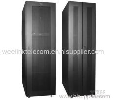 "19"" network cabinet with lockable rear door"