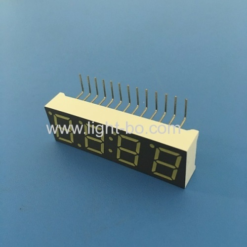 Ultra white common anode0.39 4 Digit 7 Segment LED Display for Digital Set-top Box (STB)