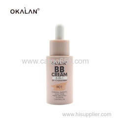 Conceal Smooth Even Tone Makeup Foundation Cream Best BB Cream With Dropper
