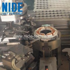 servo motor stator needle winder motor coil winding machine