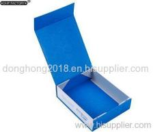 Rigid Folding Collapsible Hair Extension Magnetic Closure Gift Boxes