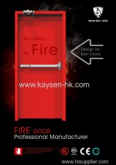 Mexin UL Listed 3 Hours Metal Fire Door