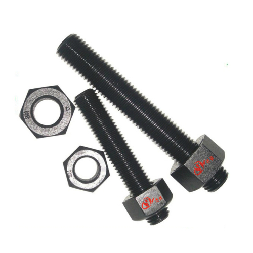 Stud Bolts with Heavy Hex Nuts for Oil & Gas Applications