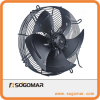 Axial fan 350mm metal steel blades for heat exchanger