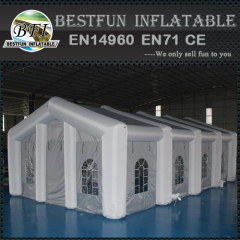 Inside With LED Lights Illuminated Inflatable Tent