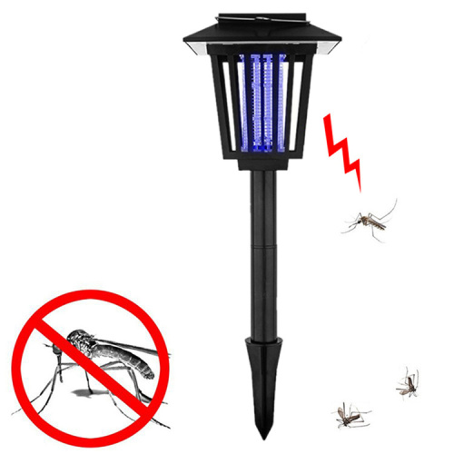 Solar Powered Mosquito Killer Lamps with LED Light