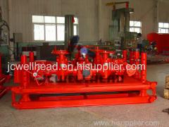 "API 16C 4 1 / 16"" - 10000psi Wellhead Choke Manifold For Drilling Operation"