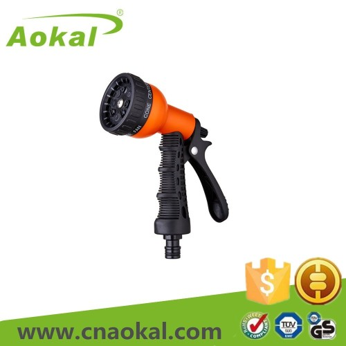 8-Pattern plastic water spray gun