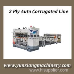 2ply Corrugated Cardboard Line